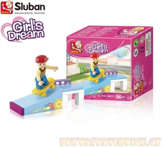 SLUBAN Girls Dream Město - Skejťák