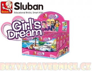Girls Dream Holidays - Dispaly - 4druhy / 8ks
